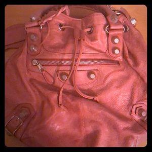 Balenciaga Large saddle rounded bag